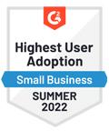 Momentum leader G2 software award, winter 2020